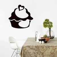 Autocollant mural nourriture gateau doux  decor de maison  peintures artistiques en vinyle  Design creatif  decoration interieure de cuisine  stickers muraux