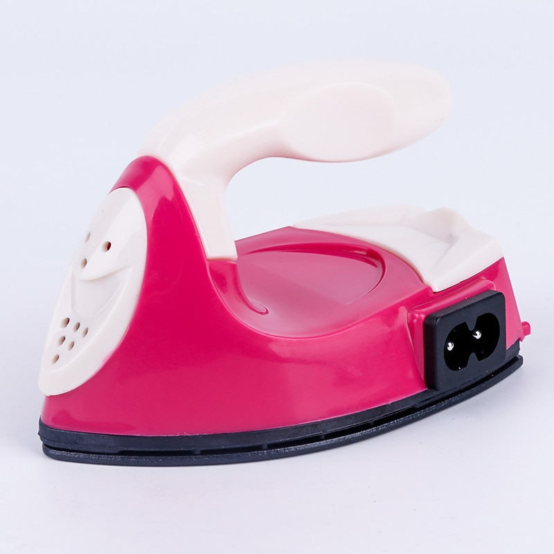 Mini plancha eléctrica portátil viaje manualidades para ropa suministros de costura BDF99