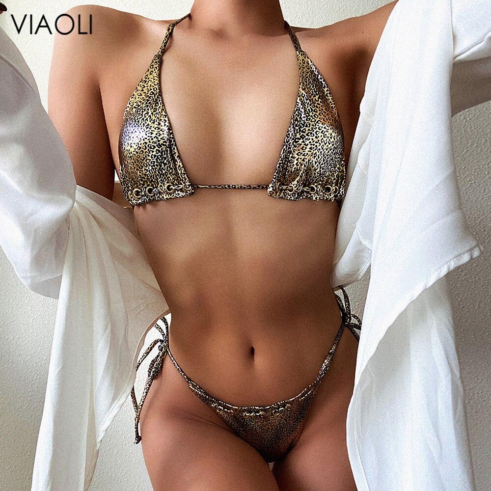 Verão feminino conjuntos de biquíni meninas praia sólida maiô maiôs para as mulheres sexy halter maiô tanga bandagem beachwear