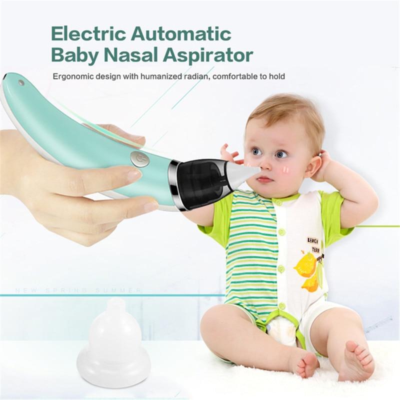Kid Baby  Nasal Aspirator Electric Nose Cleaner Newborn Bebe sucker cleaner Sniffling Ergonomic Safe Hygienic Nose aspirator
