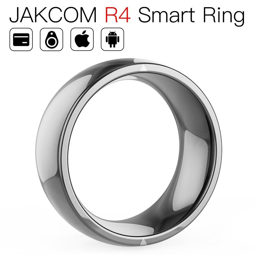Anillo inteligente JAKCOM R4 compatible con reloj de presión arterial banda 4e verge 2 mijia higrómetro digital Reloj inteligente cs go
