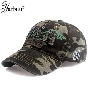 [YARBUU] Tactical Baseball Cap Men Summer USA Flag Sun Protection Snapback Cap Male Fashion Casual Golf Baseball Hat Airsoft Hat