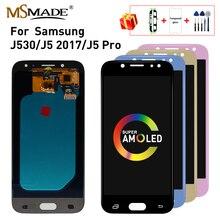 Super AMOLED LCD pour SAMSUNG Galaxy J5 2017 LCD écran tactile J530 J530F pour SAMSUNG J5 Pro 2017 J530 remplacement de lécran daffichage