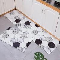 europe doormat waterproof kitchen mat home decoration carpet anti slip oil proof doormat hallway bath mat kitchen floor carpet
