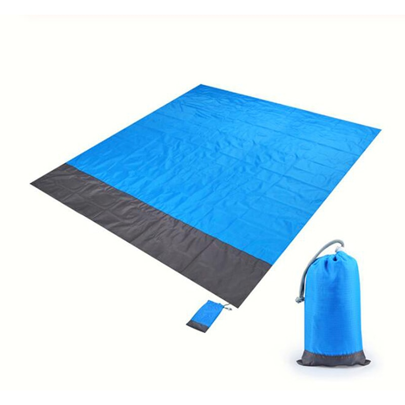 Manta de playa a prueba de agua de 200x143cm, Alfombra de Picnic portátil para exterior, esterilla de Camping, colchón para acampar, cama para dormir