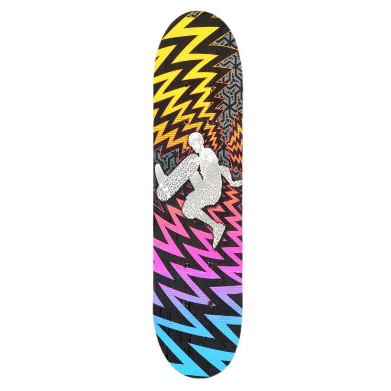 ¡TOP!-Tabla de Skate cóncava de doble plataforma, tablas de Skate para jóvenes principiantes, Skateboard de cuatro ruedas, arce doble Snubby