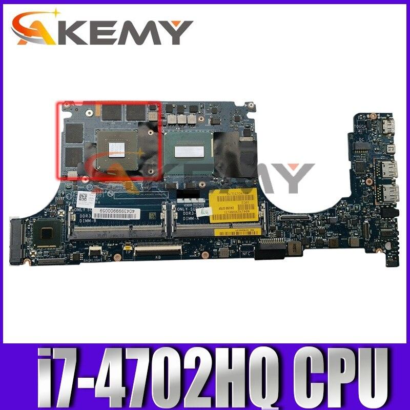 الأصلي اللوحة لابتوب ديل XPS 9530 SR15F i7-4702HQ اللوحة LA-9941P CN-0NWYM9 0NWYM9 N14P-GT-A2