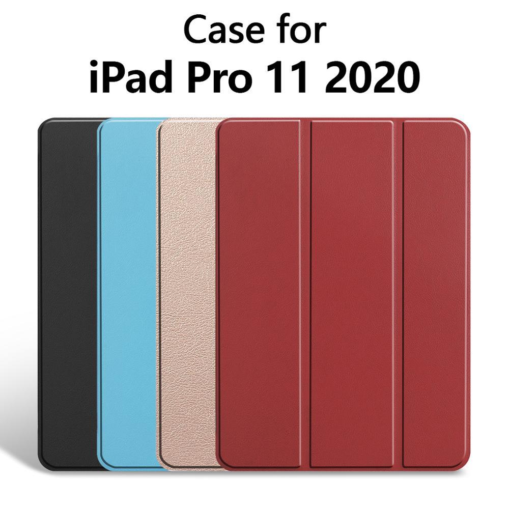 Batianda caso para el nuevo iPad Pro 11 con inteligente para automóbil dormir/despertar función y duro cubierta para iPad Pro 11 2018 y 2020