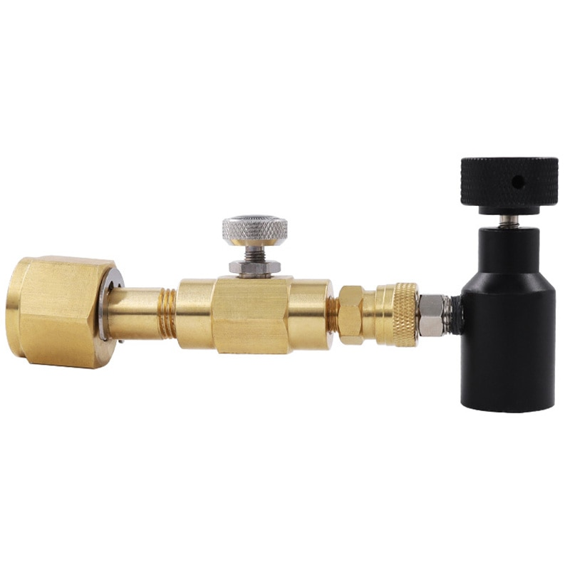 محول إعادة تعبئة أسطوانة غاز ثاني أكسيد الكربون ، محطة تعبئة ، محول إعادة تعبئة ، W21.8