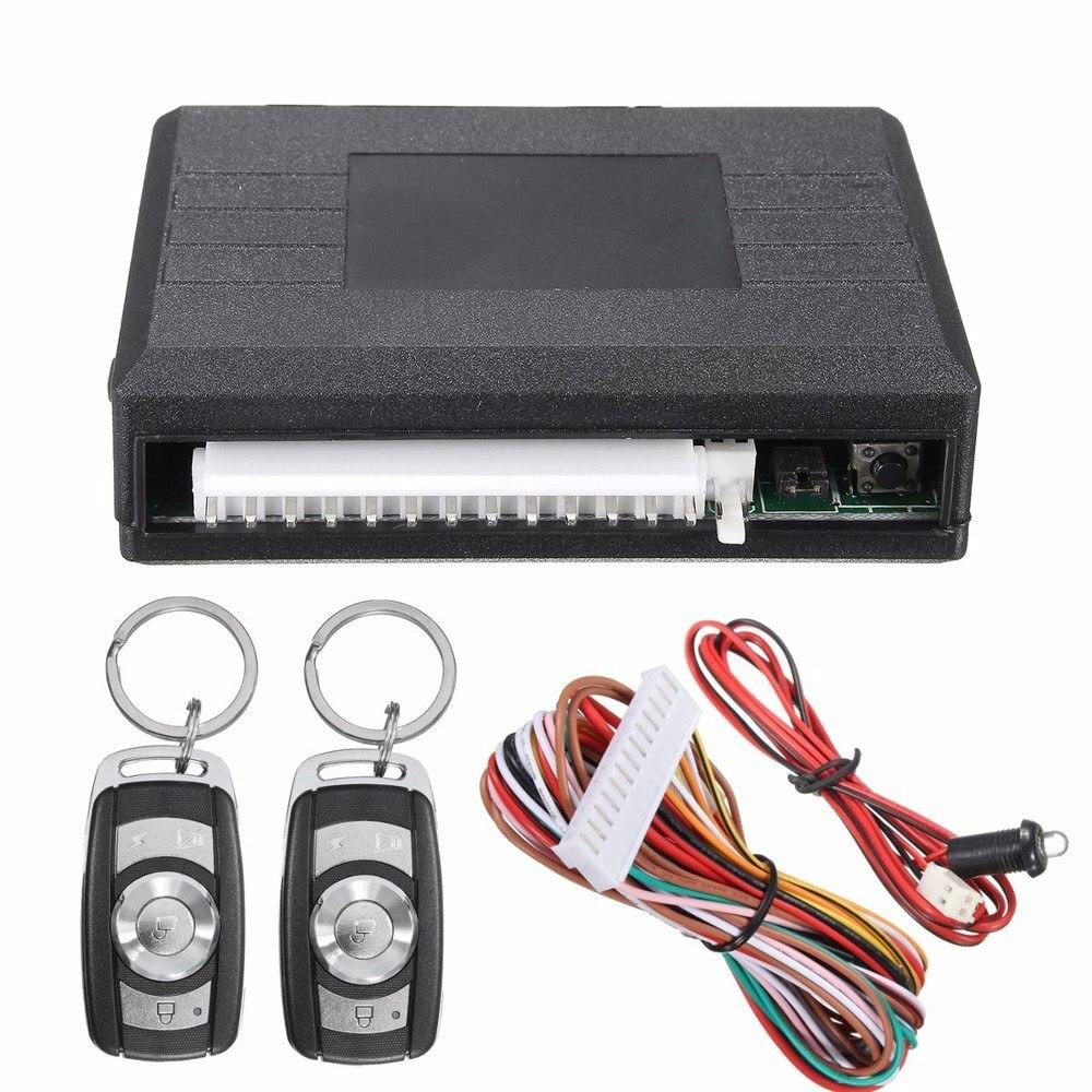 Carro de controle remoto porta central bloqueio keyless entrada sistema de alarme push start kit ignição botão para carro