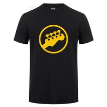 Bass Kopfplatte Gitarre Symbol Gitarrist Player Musiker Musik Rock T-Shirt Lustige Geburtstag Geschenk Für Männer O Hals Baumwolle T Shirt t