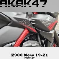 for kawasaki z900 2019 2020 2021 sticker decal front sticker fairing full car sticker graphite red 56076b 56076a 56076c