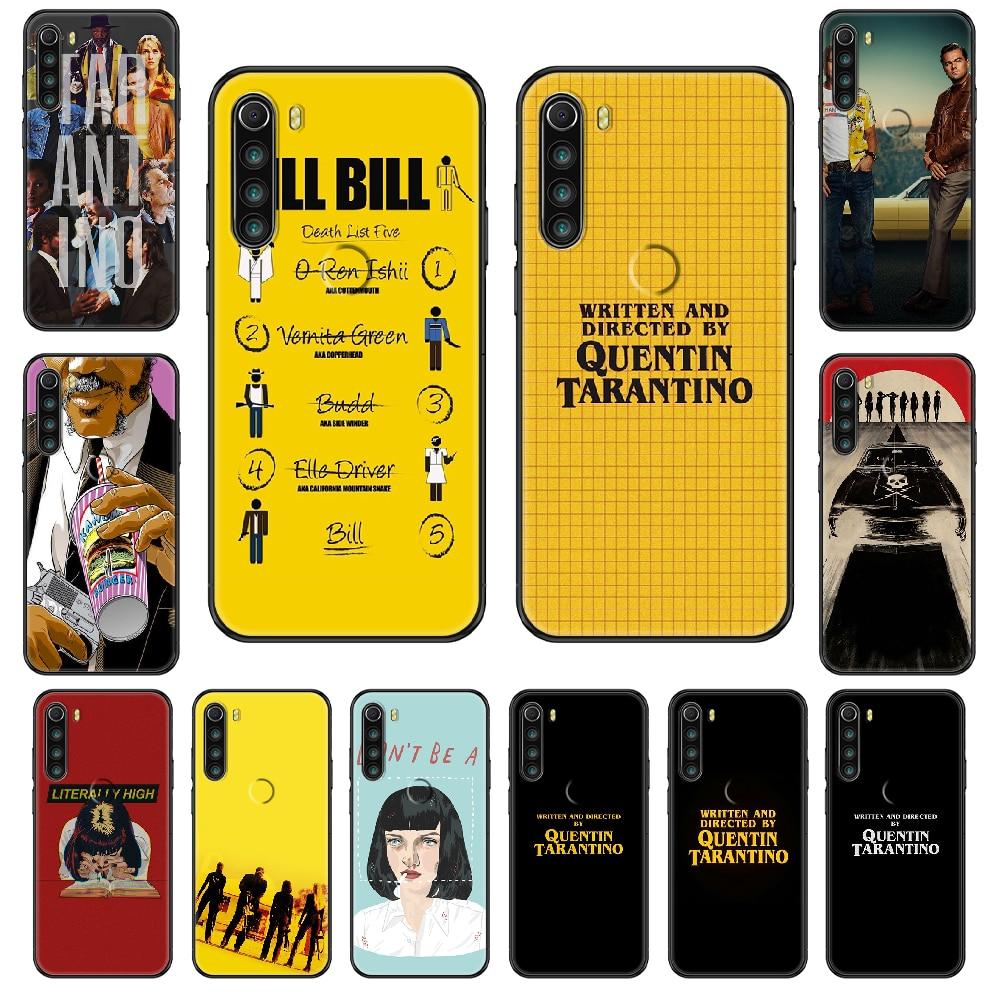 written-directed-quentin-tarantino-phone-case-for-xiaomi-redmi-note-s2-4-5-6-7-8-a-s-x-plus-pro-black-luxury-waterproof-silicone
