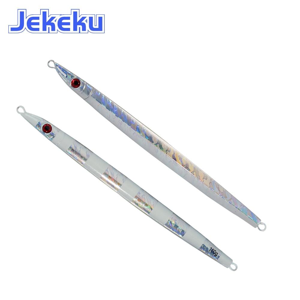 JEKEKU NEW NEW Slow Jigging Metal Lead Lure 120g 160g 200g  Metal Fishing Lure Artificial Bait Casting Fishing Tackle enlarge