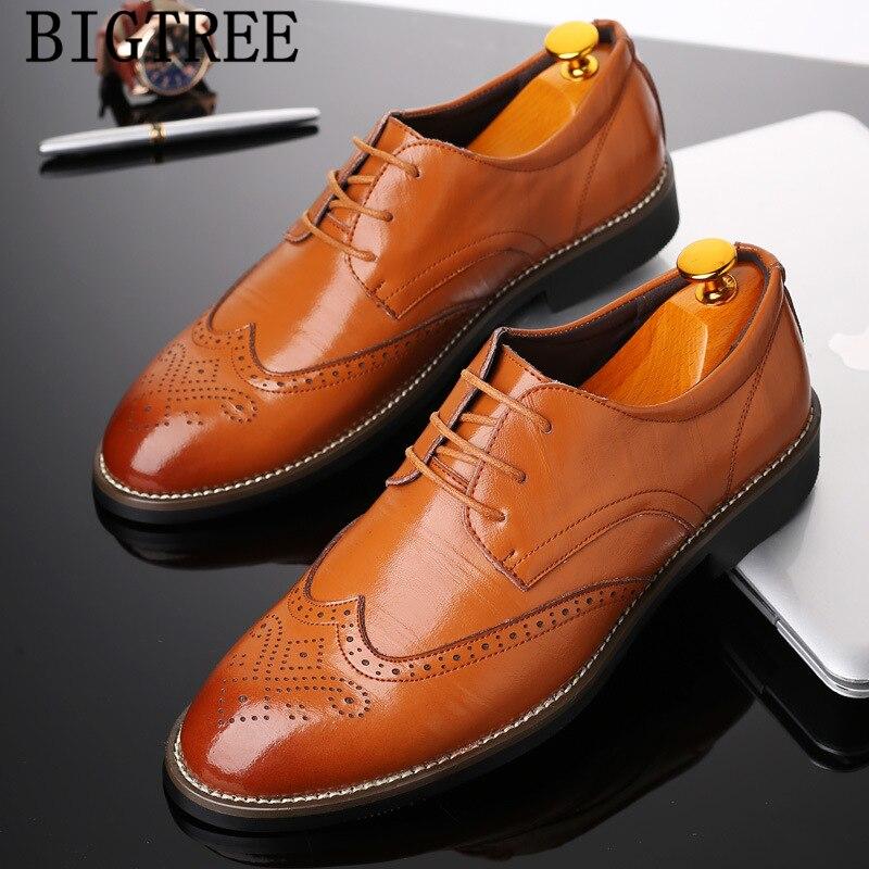 Zapatos de vestir Oxford a la moda para Hombre, Zapatos de Boda...