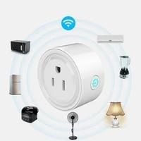 Prise domotique prise vocale telecommande prise maison travail a distance pour Google Home pour Alexa prise intelligente Wifi prise intelligente puissance
