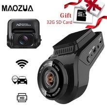 Caméra de tableau de bord caméra Ultra HD 2160P 4K   Caméra arrière 1080P, enregistreur GPS WiFi, ADAS double objectif Dashcam voiture DVR Vision nocturne + carte SD 32G