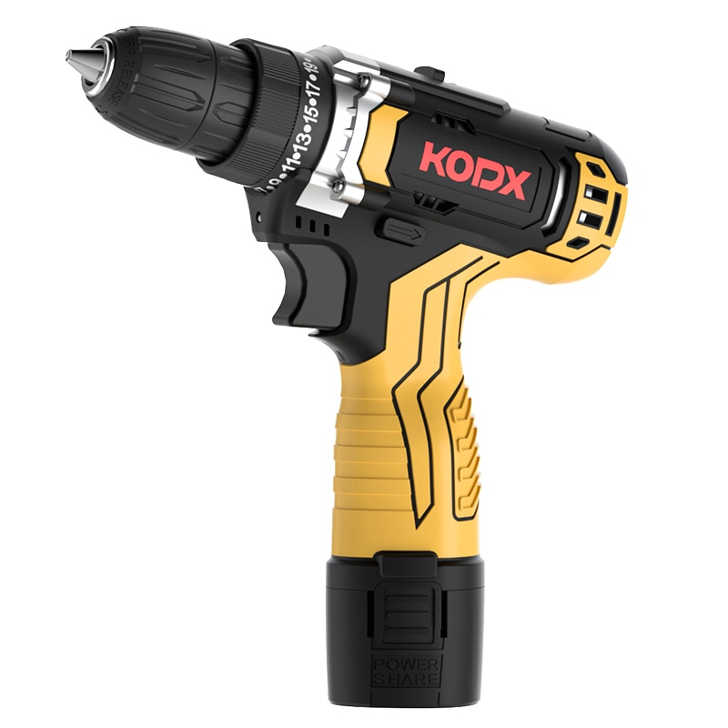 KODX اللاسلكي تأثير الحفر 21 فولت مفك كهربائي المنزل بطارية ليثيوم صغيرة لاسلكية قابلة للشحن اليد الحفر