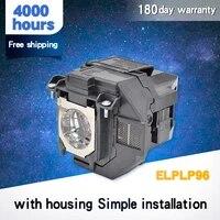 Lampe De projecteur pour ELPLP96 PowerLite Home Cinema EB-S41 EH-TW5650 EH-TW650 EB-U05 EB-X41 EB-W05 EB-W05 WXGA 3300 EH-TW5600