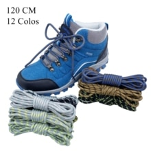 Outdoor classic strong shoelace hiking boots shoelace round shoelace sports shoe shoelace unisex hik