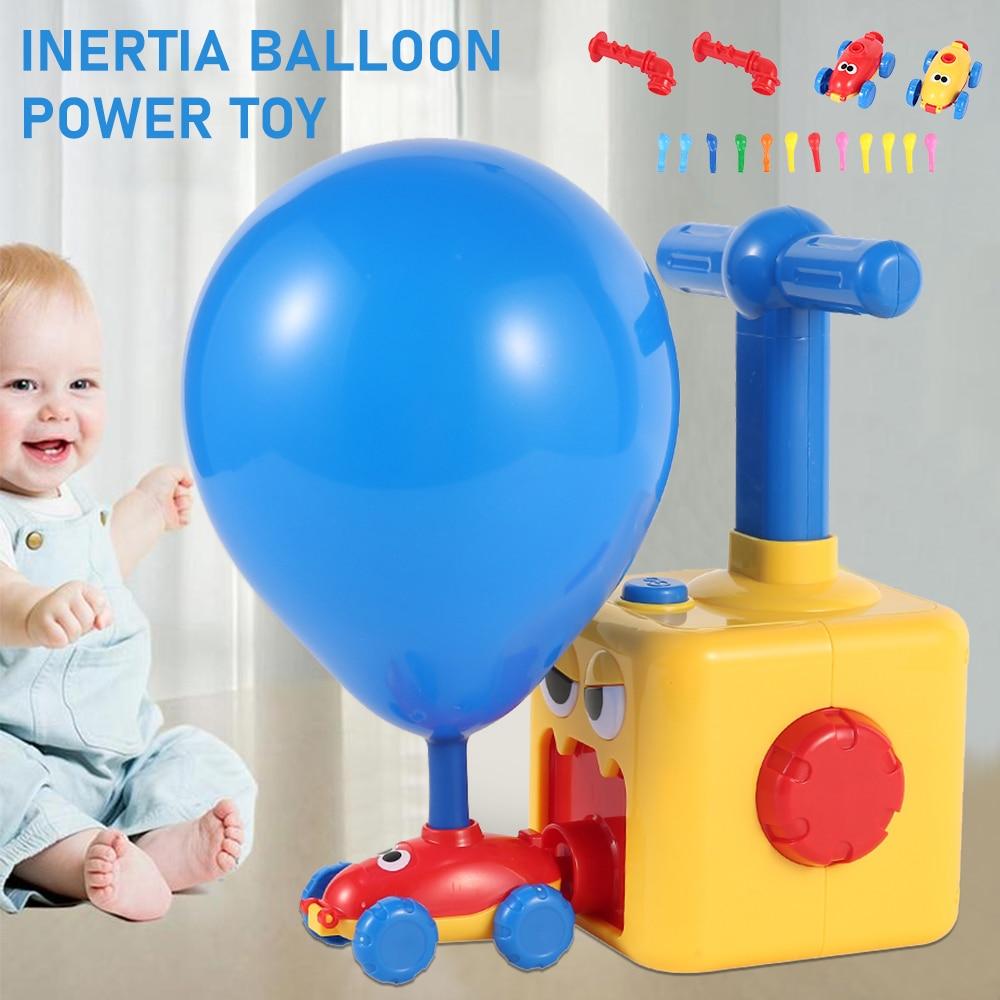 Детская одежда с симпатичными машинками инерционная Мощность шар игрушка мальчик утка модель образовательные игрушки для научного экспер...
