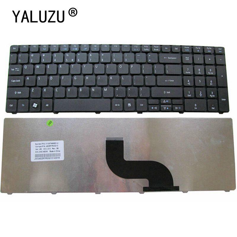 YALUZU новая клавиатура для ноутбука США для Acer Aspire 5740 5740-5517 5740G 5742-5742 6331 5336 5536G 5536TG 5536 5410T 5410 7551G