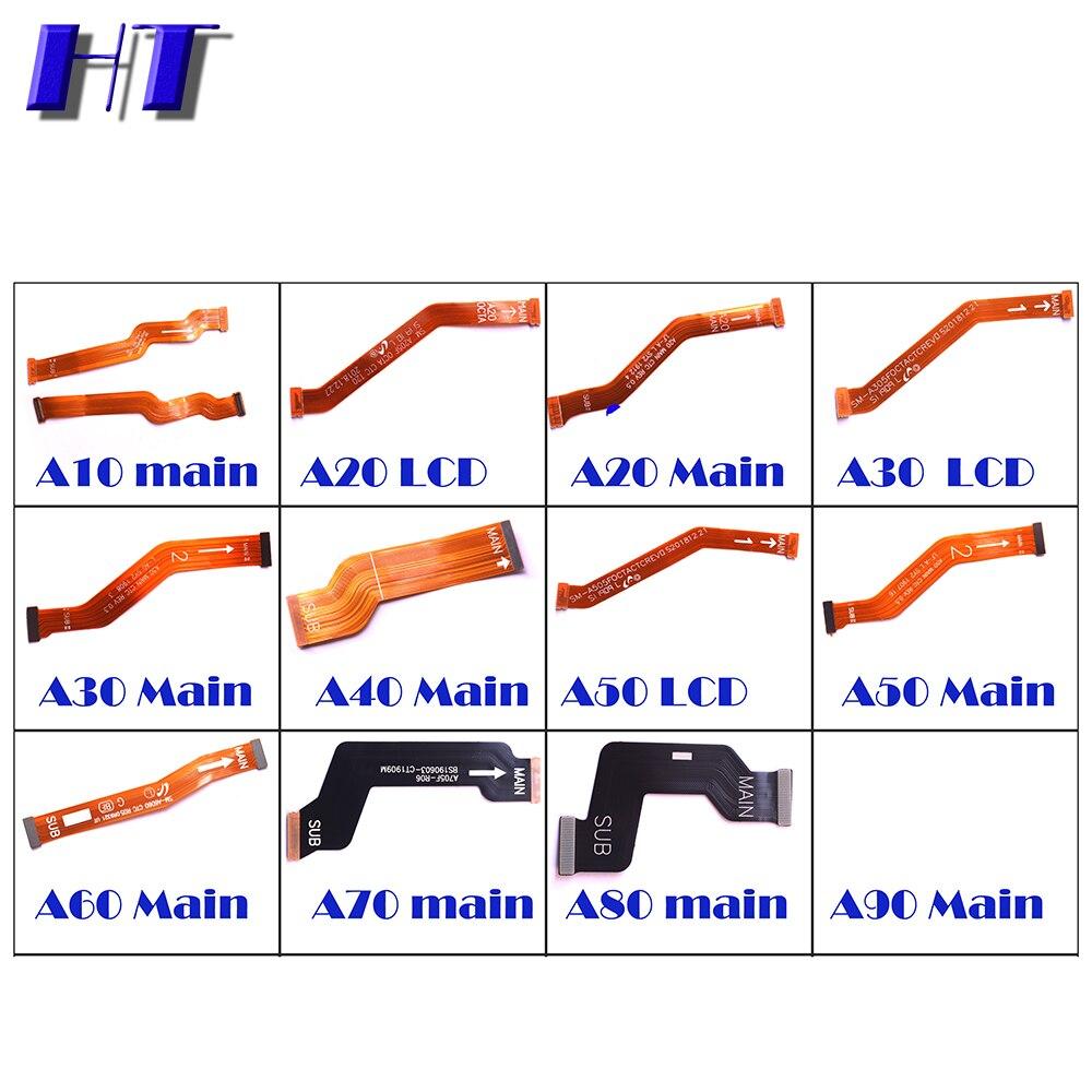 Для Galaxy A10 A10S A20 A20S A30 A30S A40 A50 A50S A60 A70 A70S A80 A90 материнская плата SUB материнская плата ЖК-дисплей для подключения гибкого кабеля