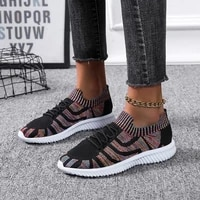 womens shoes spring and autumn new style 2021 mesh fashion non slip thick soled womens sports shoes comfortable casual shoes