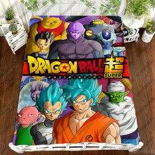 Dragon Ball Z Anime Printing Bedding Set Sheet Vegeta Son Goku DRAGON BALL Z Zetto Children Room Bed Sheet Bedding Set