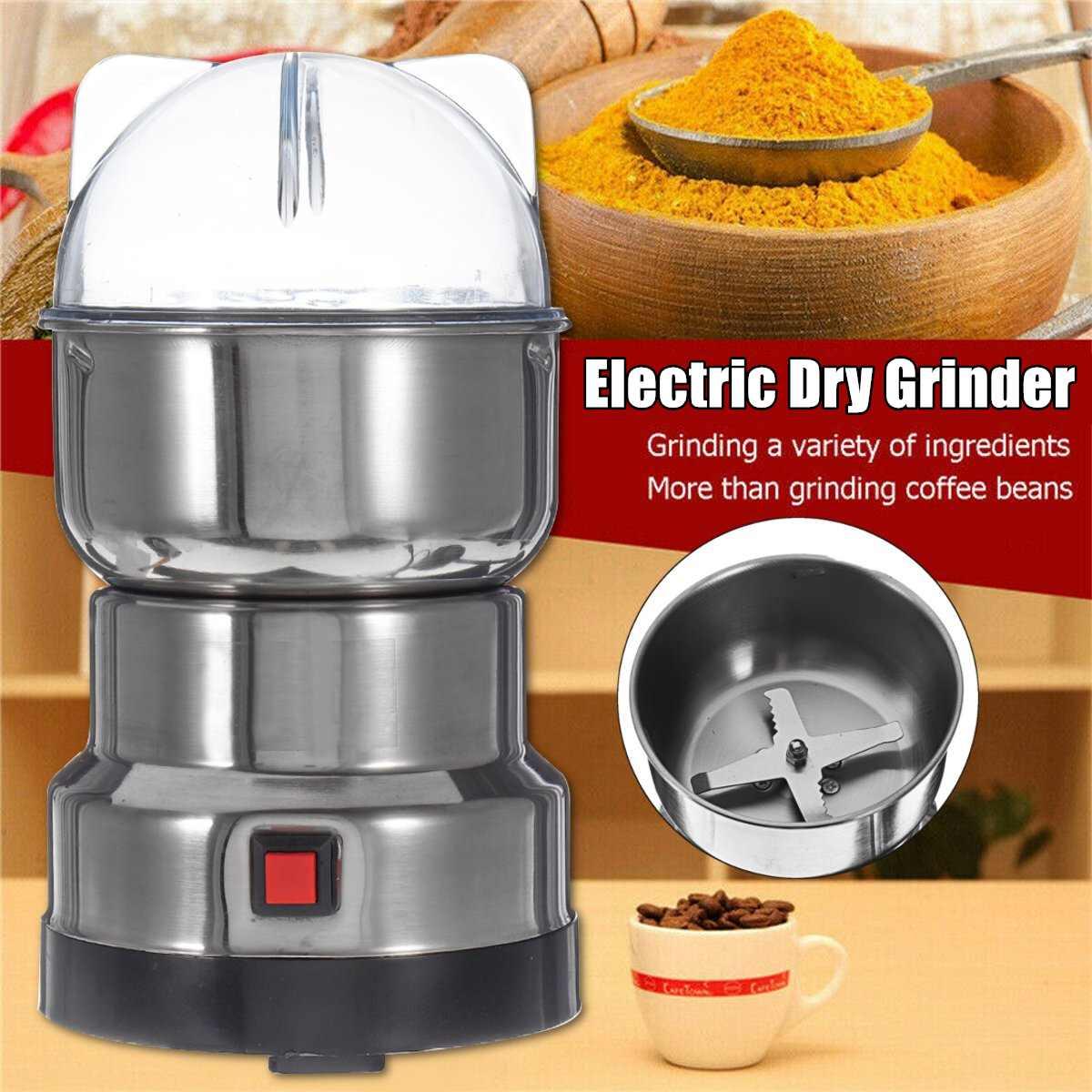 الكهربائية المطبخ الحبوب المكسرات الفول التوابل الحبوب ماكينة الطحن متعددة الوظائف المنزل القهوة طاحونة آلة مطاحن قهوة