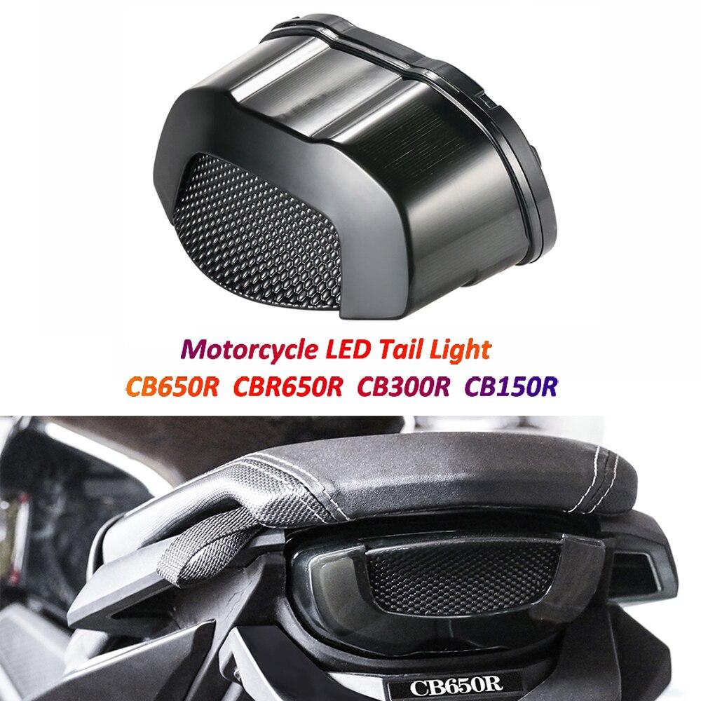 دراجة نارية وقف مصباح LED أضواء خلفية الجمعية الفرامل الضوء الخلفي مع بدوره إشارة لهوندا CB650R CBR650R CB 650R CB300R CB150R