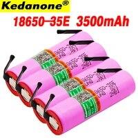 2020 voor samsung 18650 3500 mah 13adischarge inr18650 35e inr18650 35e 18650 li ion 3 7 batterij oplaadbare batterij diy nick