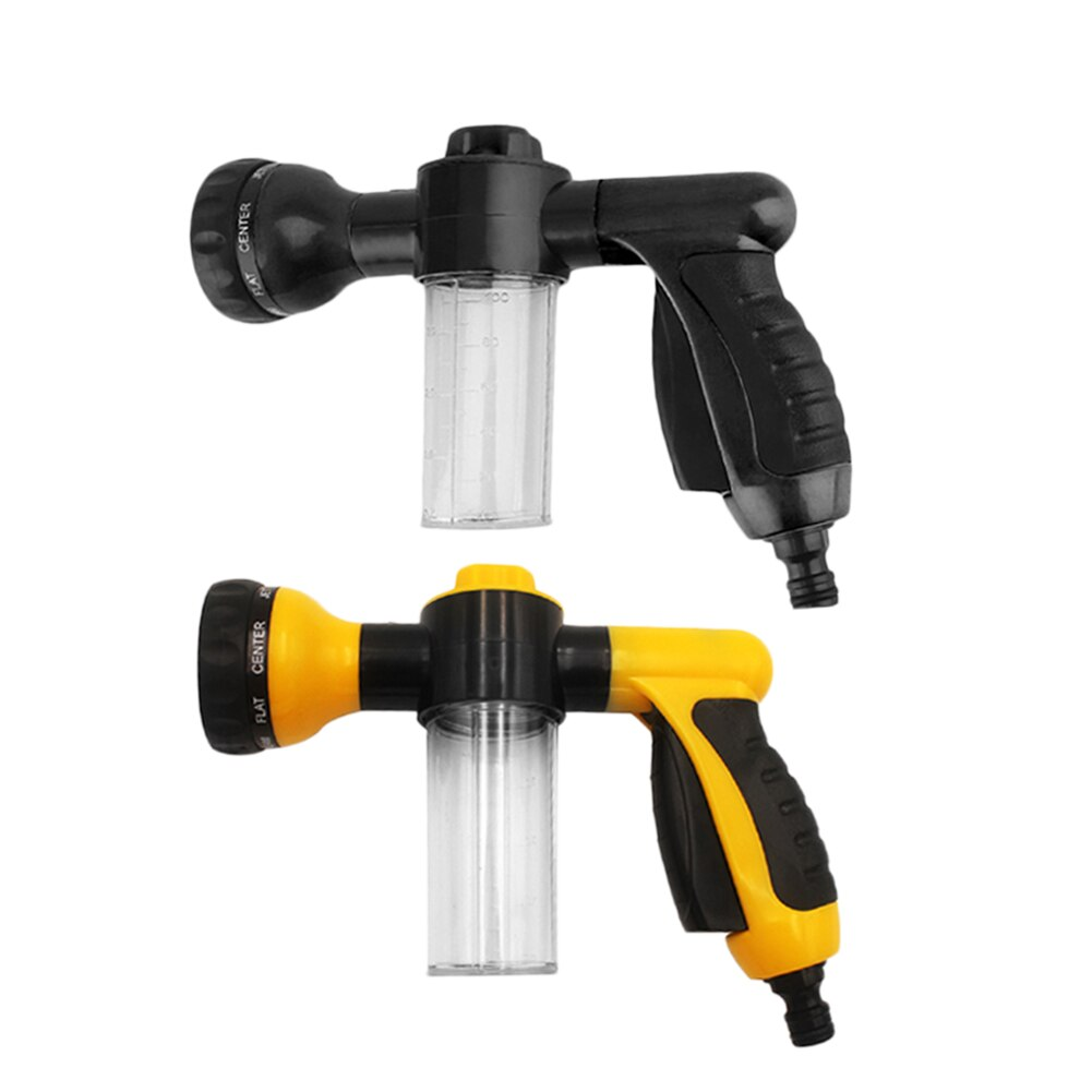 High Pressure Power Foam Water Gun Plastic 3 Gears Adjustable Auto Car Washer Nozzle Sprayer Jet Washing Cleaning Tools