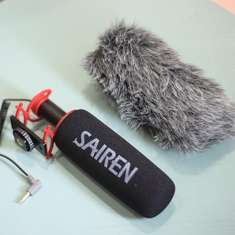 Ulanzi Sairen Q3 Pro Studio Interview Microphone Professional Audio Video Record Mic DSLR Camera Smartphone Microphone enlarge