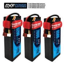2PCS DXF Batterie Lipo 3S 11,1 V 5200mah 6500mah 7000MAH 50C 60C 100C 120C 200C hardcase für RC Evader BX Auto Lkw Truggy Buggy