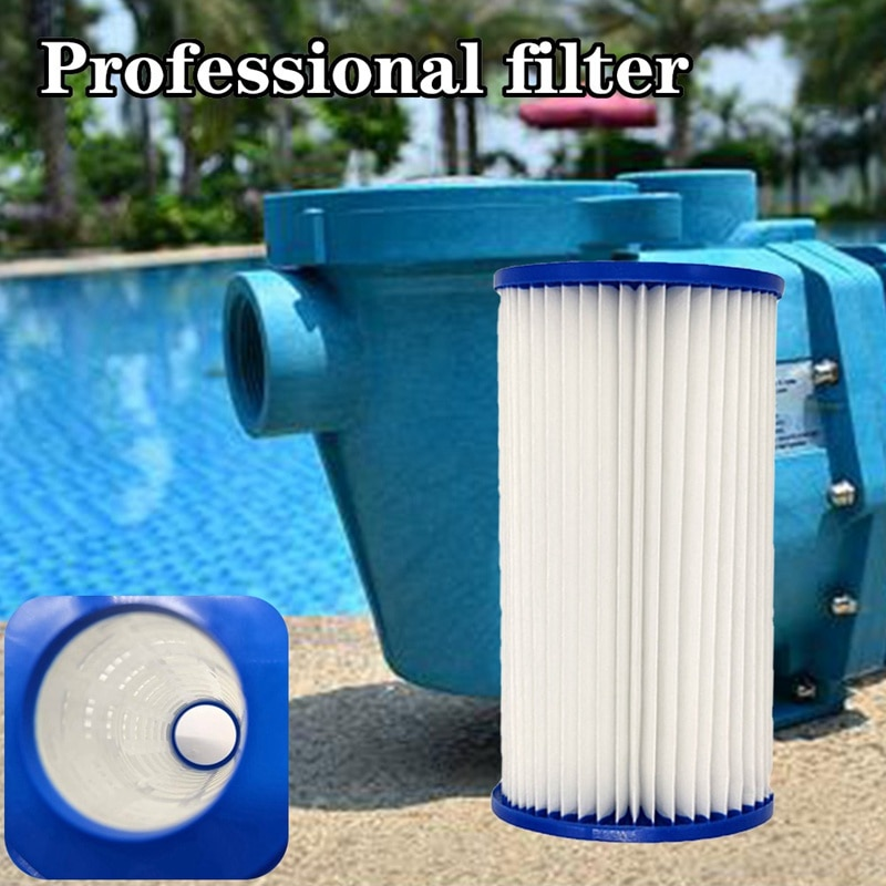 2 pces filtro de água bomba cartucho filtro banheira spa banho piscina filtro de água bomba ferramenta substituição tipo um filtro de papel