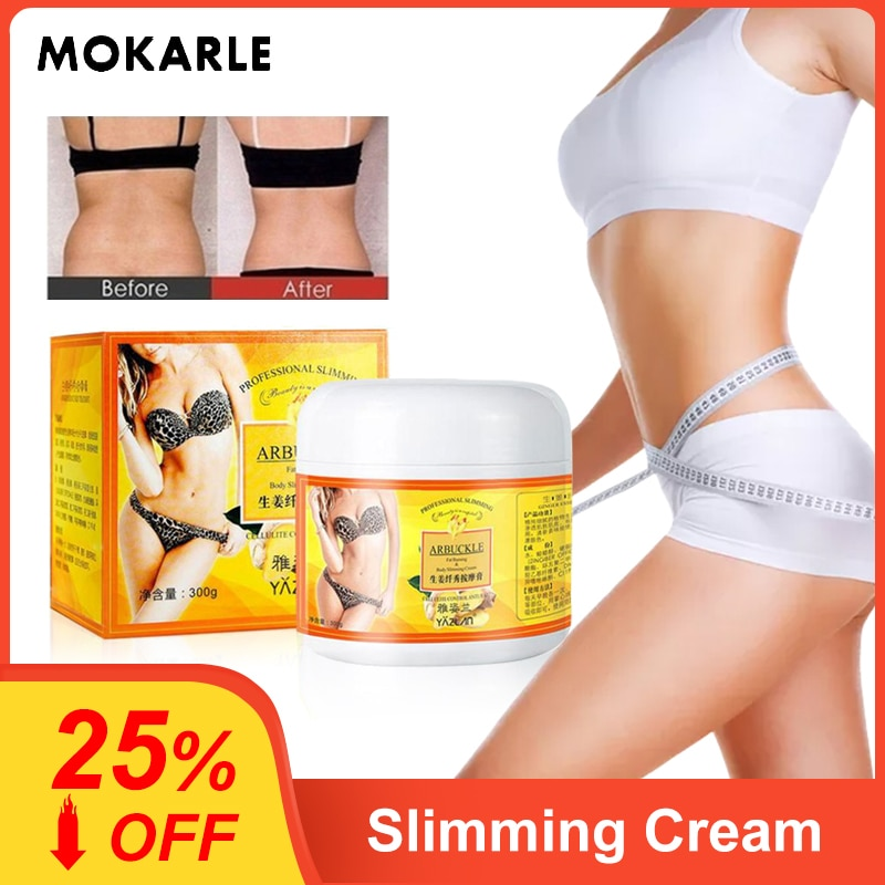 AliExpress - MOKARLE 300g Ginger Full Body Slimming Cream Fat Bruner Anti-cellulite Body Shaping Gel Moisturizing Firming Slimming Product