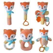 HI5KIDI Fox Animal Plush Toy Collection Hobby Plush Doll Stuffed Toy Doll Claw Machine Soft Cotton Plush Toy Children'S Day Gift