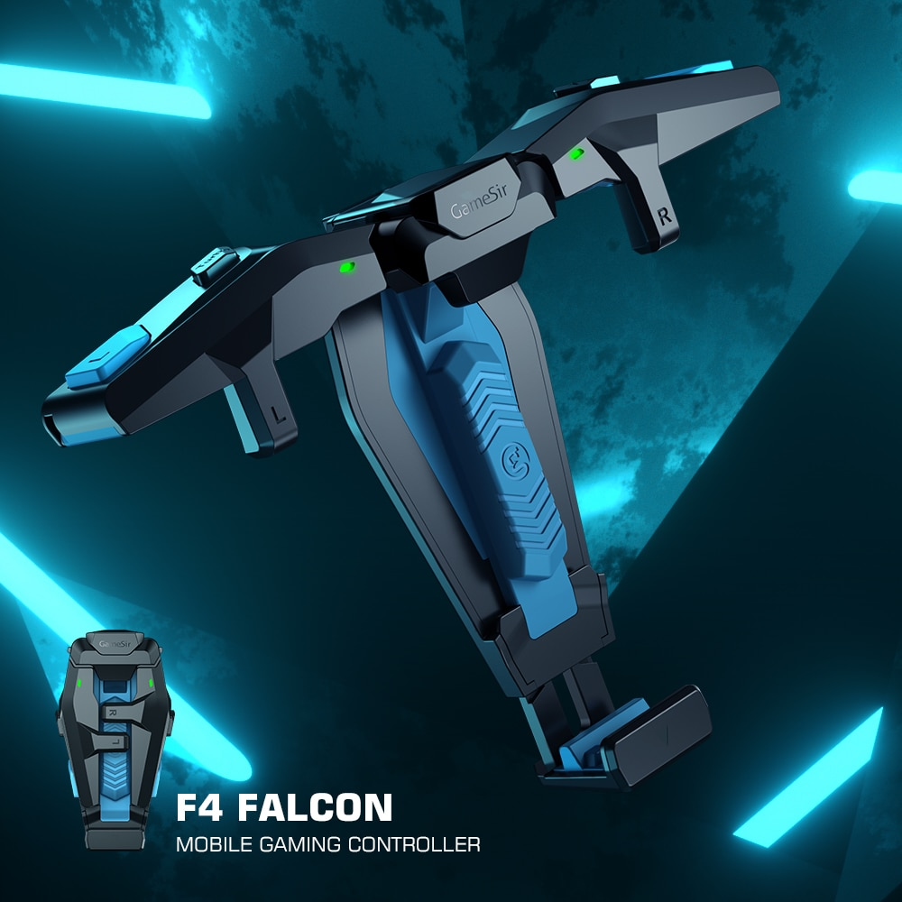 GameSir-mando F4 Falcon PUBG para videojuegos, mando Plug and Play para iPhone/Android,...