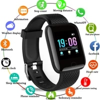 2021 new stylish d13 smart watches electronic sports smartwatch fitness tracker for android smartphone ip67 waterproof watch
