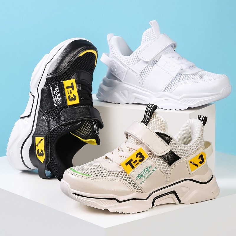 Детская обувь, кроссовки для мальчиков, спортивная обувь, детские резиновые кроссовки для отдыха, Повседневные детские кроссовки 2021, брендо...