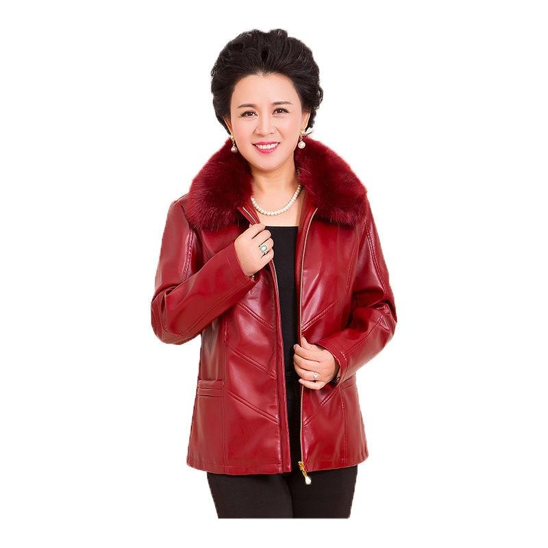 جاكيت نسائي من الجلد المغسول ، معطف غير رسمي بمقاسات كبيرة 6XL ، ملابس شتوية 2020 ، معطف علوي قصير من الجلد المغسول ، ملابس الشارع