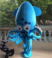 octopus mascot costume suit cosplay party game dress outfit halloween adult 2019