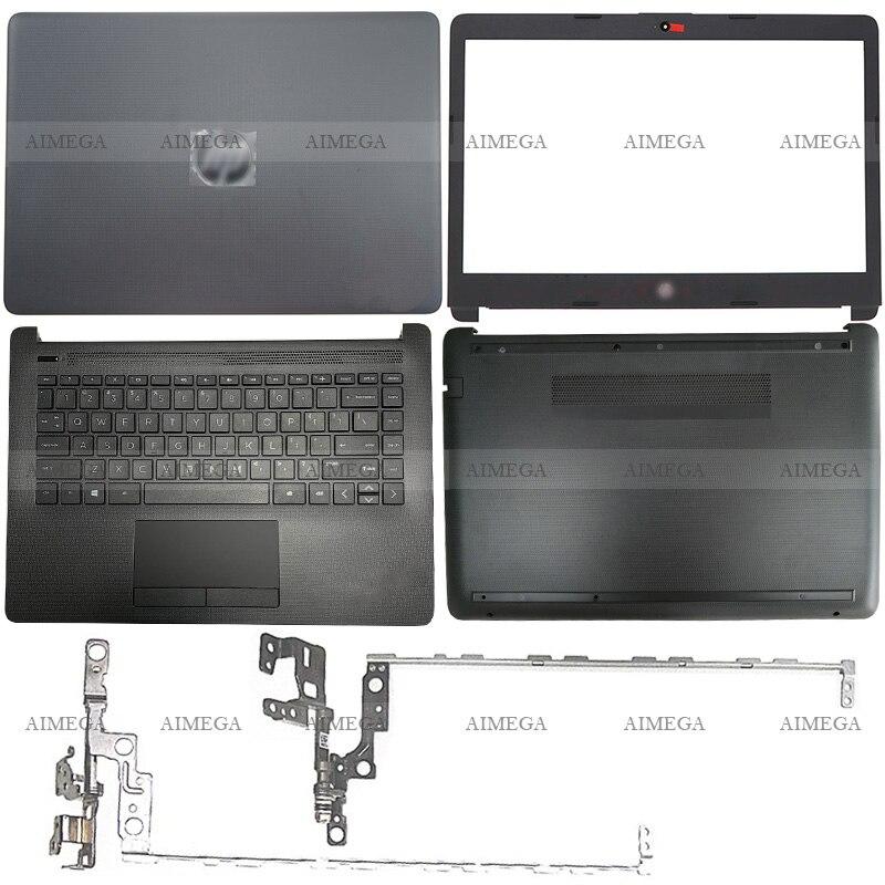 لابتوب HP 14-CM 14-CK 240 245 246 G7 LCD الغلاف الخلفي/الجبهة مدي/مفصلات/Palmrest/أسفل حالة L44056-001L23491-001 L44057-001