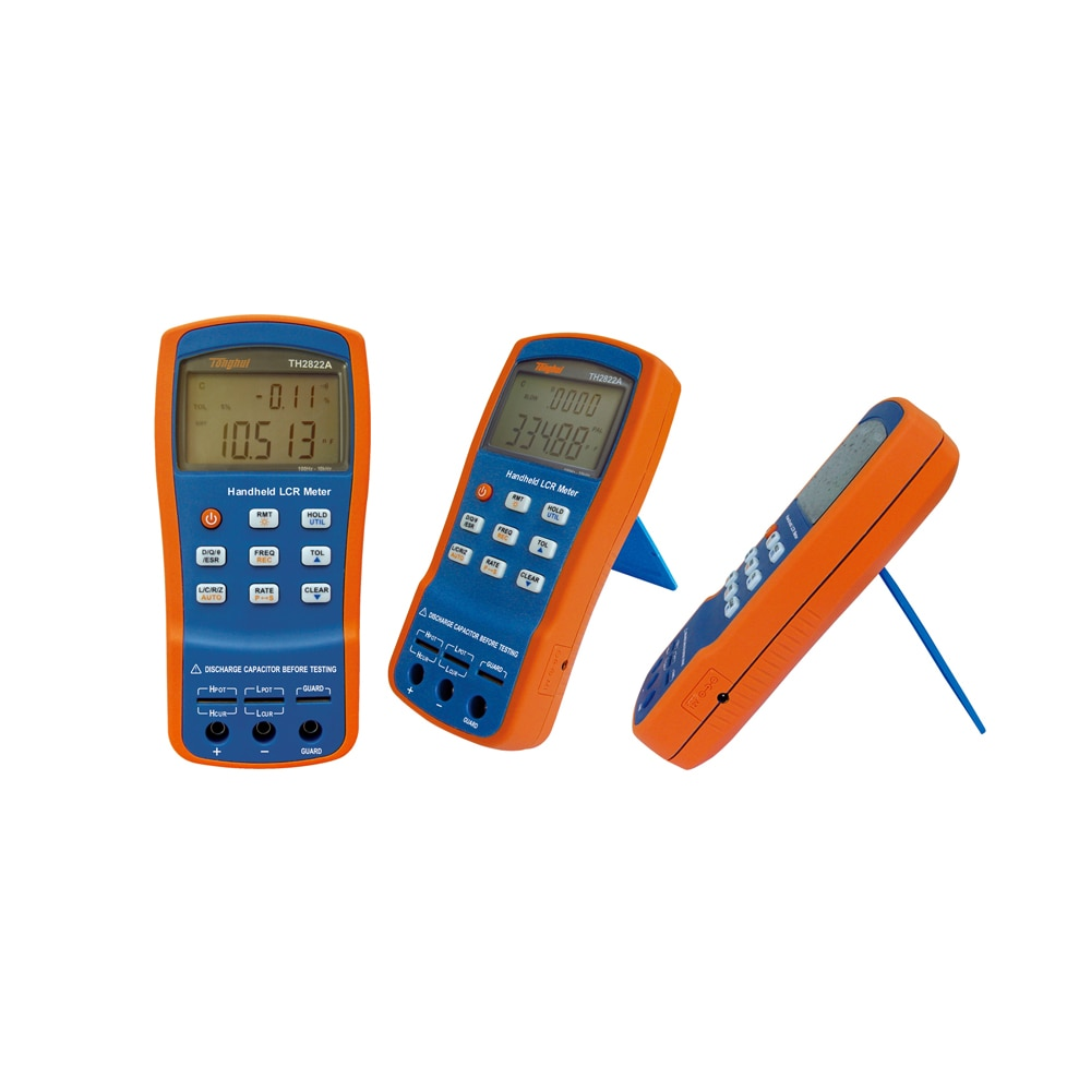 Tonghui-TH2822A Handhel LCR Meter ، الجسر الرقمي ، جهاز اختبار الحث ، المقاومة ، السعة