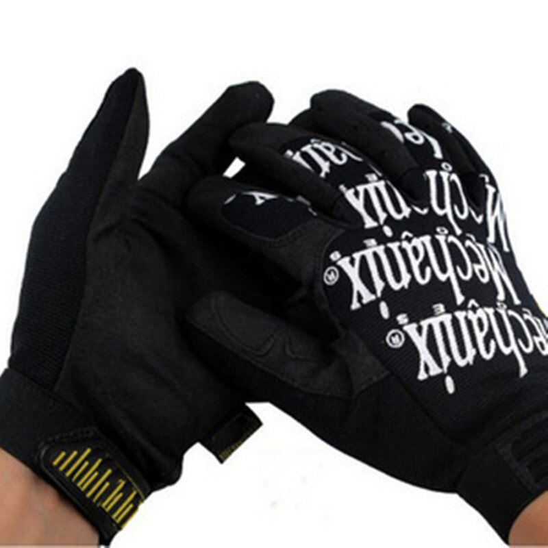 Men Tactical Gloves With Letters Super Technician Wear Resistant Anti Skid Fitness Climbing Cycling Gloves C246 the new black hawk skid protector gloves fitness means