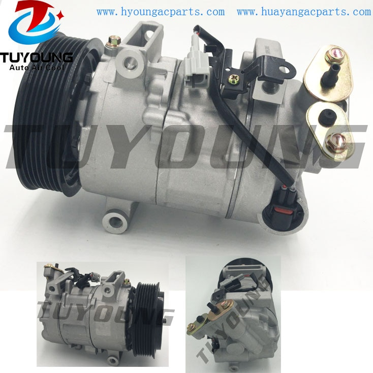 Compresseur auto A/C pour Renault Megane Scenic   Pour Grand Scenic III 6SEL14C 8200956574 447150-0010