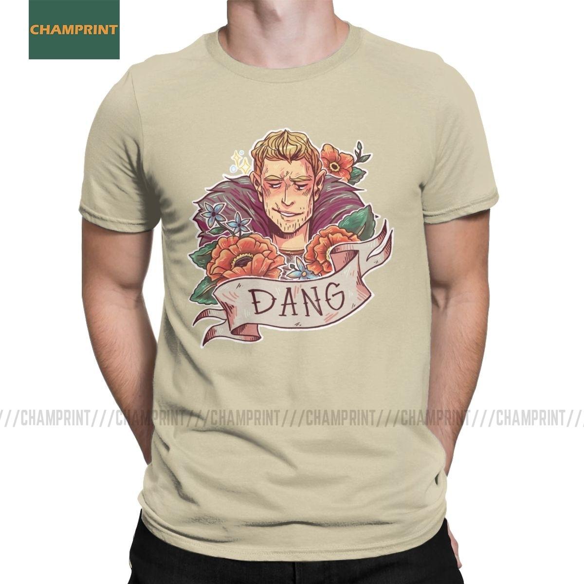 Camisa de manga curta t camisa de algodão dos homens da idade do dragão do comandante de dang t camisas fenris do touro do ferro inquisição garrett hawke jogo