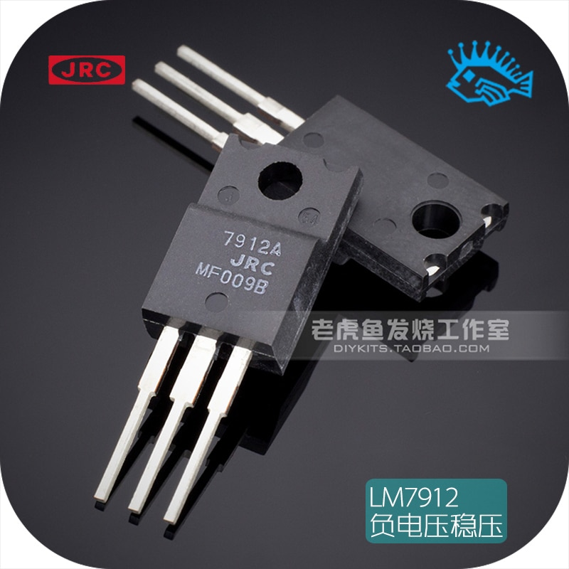 5 uds./50 Uds. Japón JRC NJM7912FA LM7912 regulador de tres terminales integrado chip regulador de voltaje negativo TO-220F
