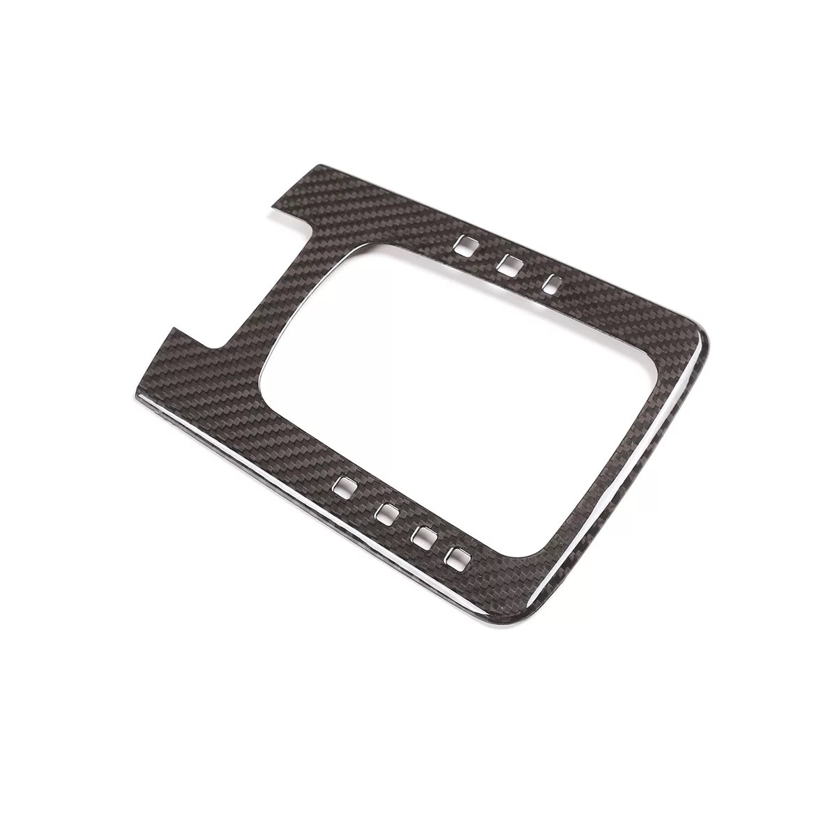 Dry Carbon Interior Gear Shift Frame Cover For Porsche 718 Cayman Boxster 911 enlarge